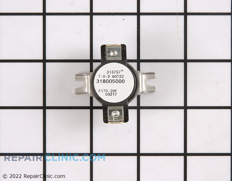 Cooling fan thermostat, F170-20F