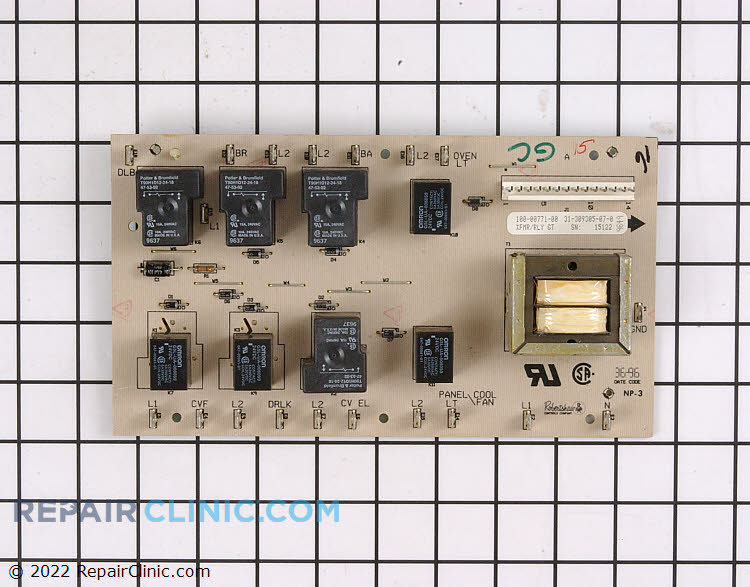Oven Control Board WPY0309305 Alternate Product View