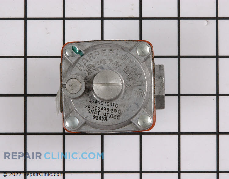 Gas Burner & Control Valve 0302495 Alternate Product View