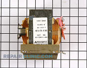 High Voltage Transformer - Part # 584472 Mfg Part # WP4375286