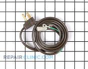 Power Cord - Part # 113418 Mfg Part # B8310509