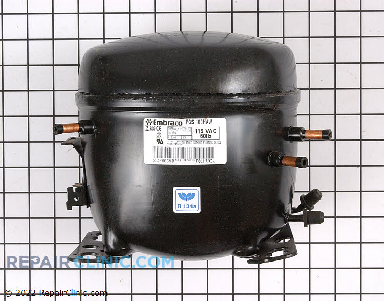 Compressor W10309995 Alternate Product View