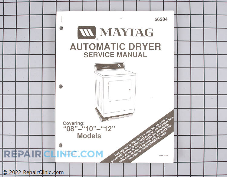 Repair Manual Y056284 Alternate Product View
