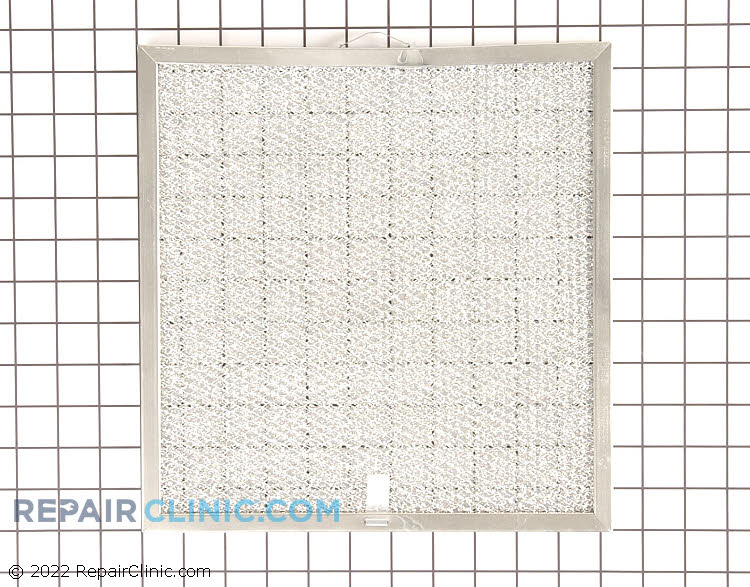 Grease filter, 11-3/4 X 11-1/4 X 1/4 inches