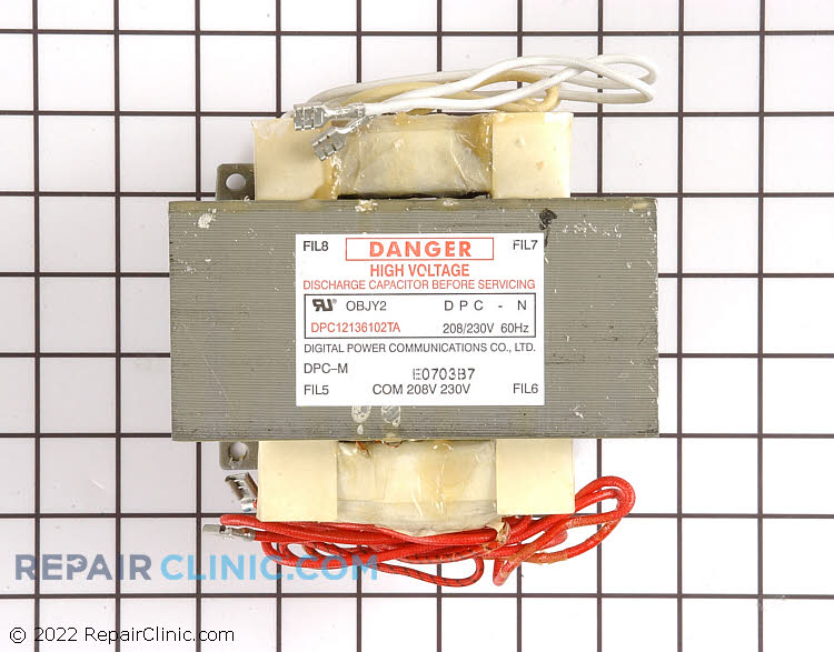 High Voltage Transformer 59004031 Alternate Product View