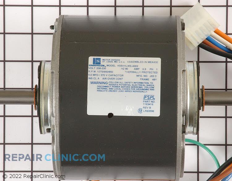 Fan Motor 1163416         Alternate Product View