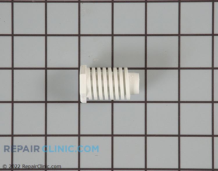 """Plastic leveling leg. White approximately 1"""" round x 1 3/4"""" long"""