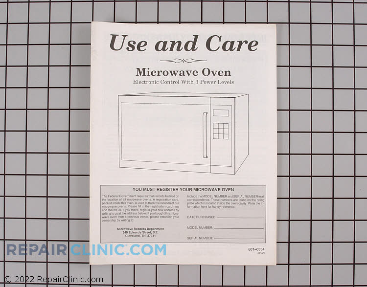 Manuals, Care Guides & Literature 06010334        Alternate Product View