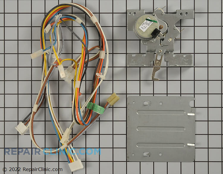 Door Lock Motor and Switch Assembly WB14T10016 Alternate Product View