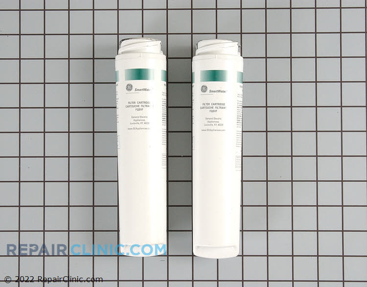 GE Dual Stage Twist and Lock Replacement Water Filter reduces contaminants found in household water including lead , mercury, and chlorine. Replace every 6 months or 160 gallons. Pack of 2.