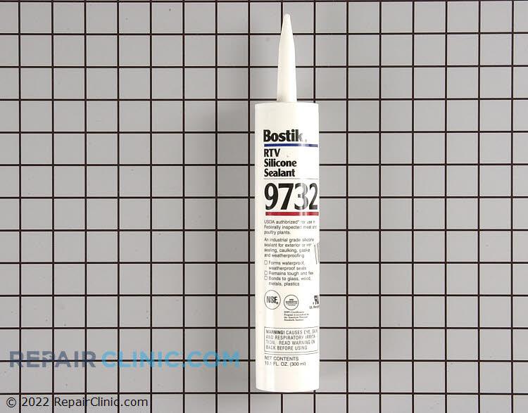 Silicone sealant. Bostik 9732 RTV marine grade silicone sealant