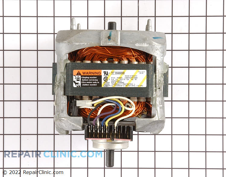 Drive Motor WP3946896 Alternate Product View