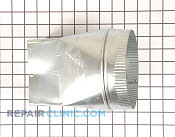 Exhaust Duct - Part # 1235607 Mfg Part # Y0059493