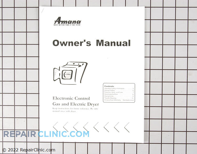 Manuals, Care Guides & Literature 40093301        Alternate Product View