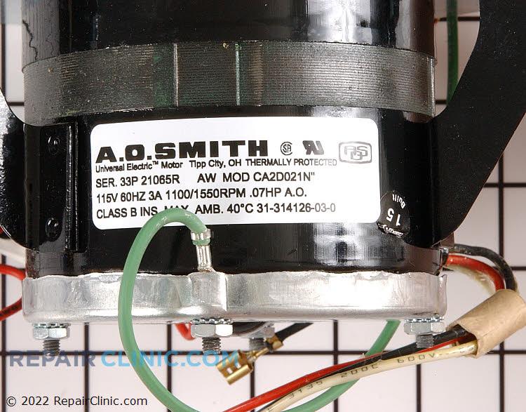 Fan Motor 0055078 Alternate Product View