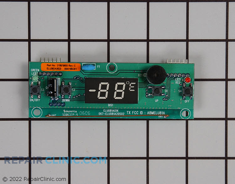 User Control and Display Board 216979600 Alternate Product View