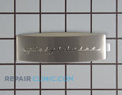 Nameplate - Part # 1259383 Mfg Part # 241808601