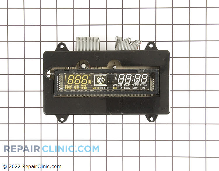Electronic clock control. *Wiring could differ from original, will possibly need to be installed by an appliance repairperson.