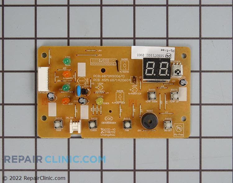 Display Board 6871A20604A Alternate Product View