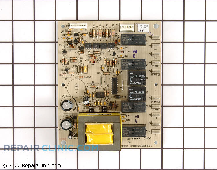 Oven relay board