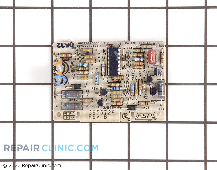 Temperature Control Board WP3955728 Alternate Product View