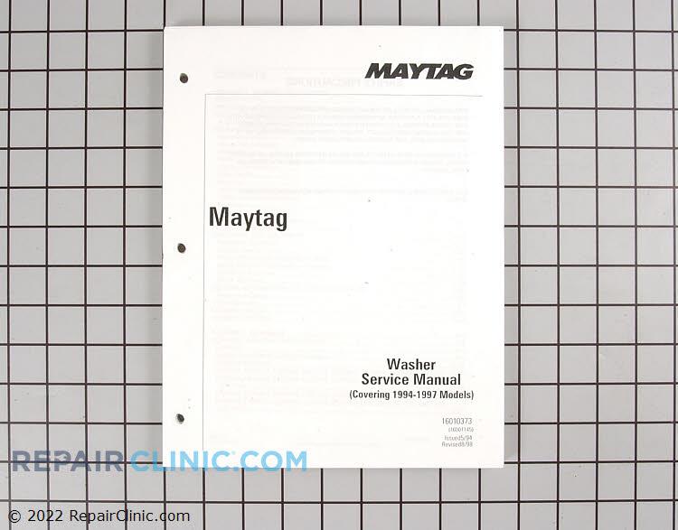 Repair Manual 16010373 Alternate Product View