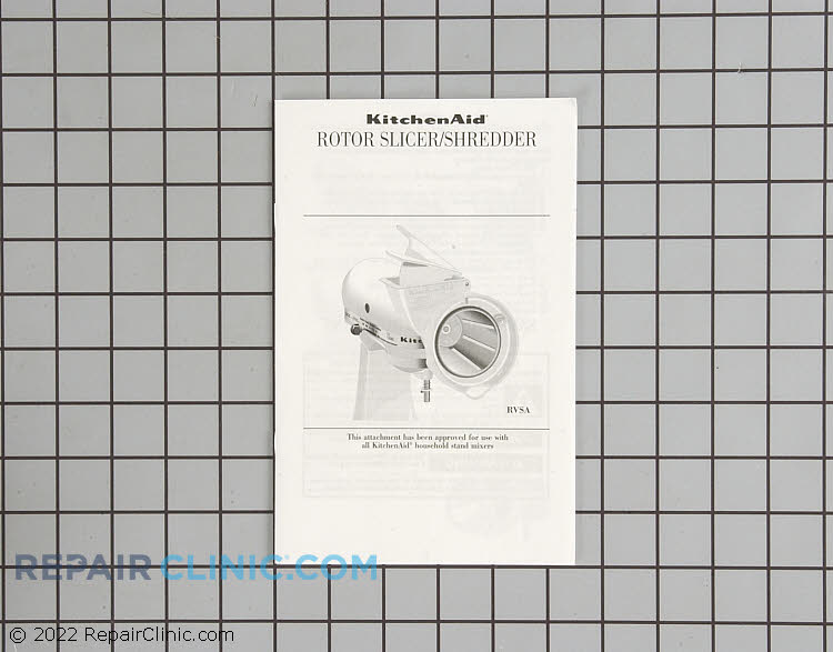 Food Processor Attachment 4164750 Alternate Product View