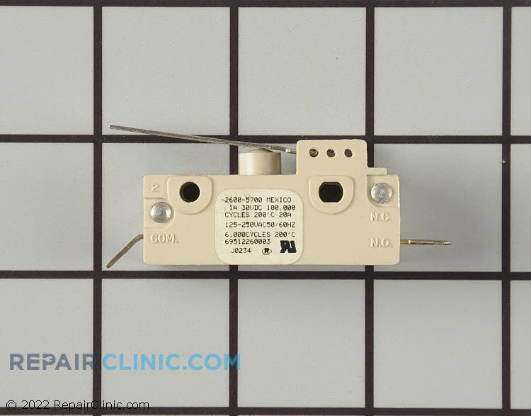 Fan or Light Switch 3204592 Alternate Product View