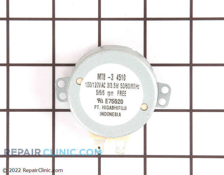 Turntable Motor WP58001047 Alternate Product View
