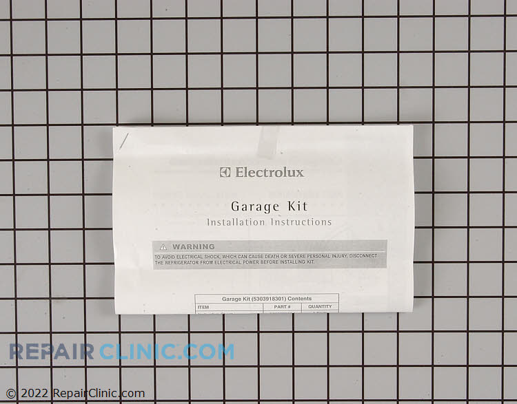 Garage Heater Kit 5303918301      Alternate Product View