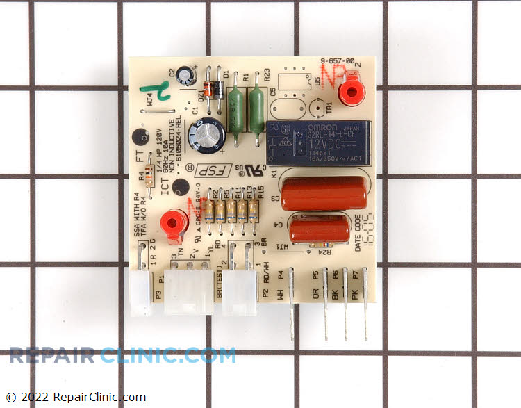 Defrost Control Board WPW10366605 Alternate Product View