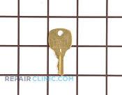 Door Key - Part # 445832 Mfg Part # 216362800