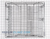 Upper Dishrack Assembly - Part # 1376484 Mfg Part # 8801315-36