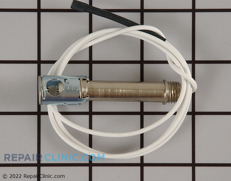 Spark igniter electrode assembly, 35 inch wire lead