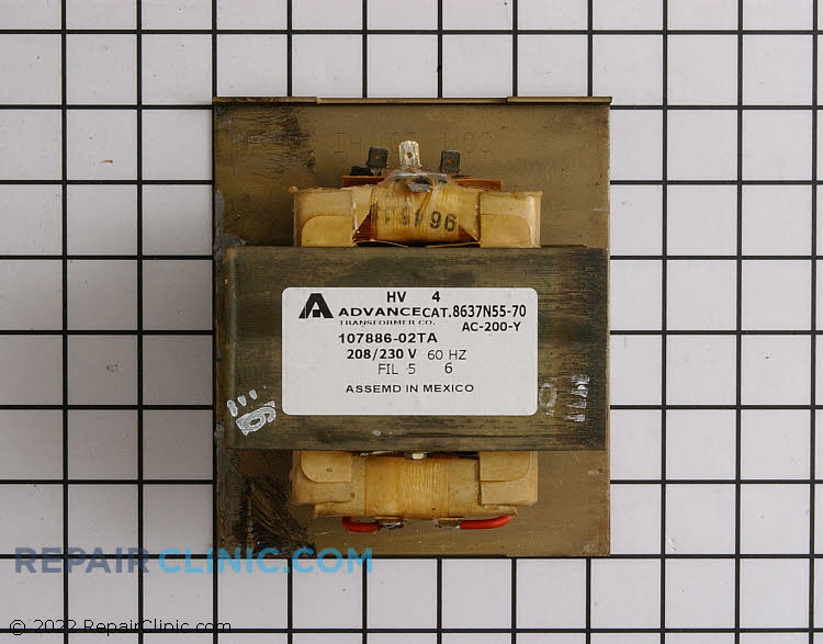 High Voltage Transformer 59001626 Alternate Product View