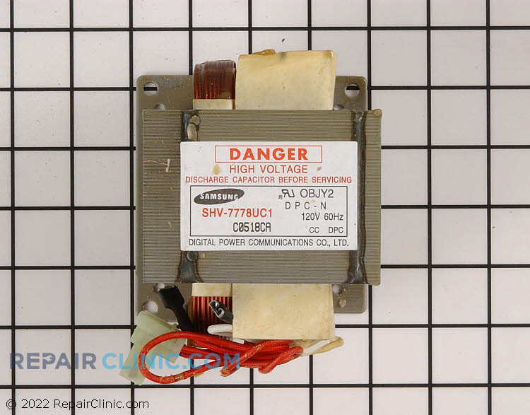 High Voltage Transformer WB27X10133 Alternate Product View