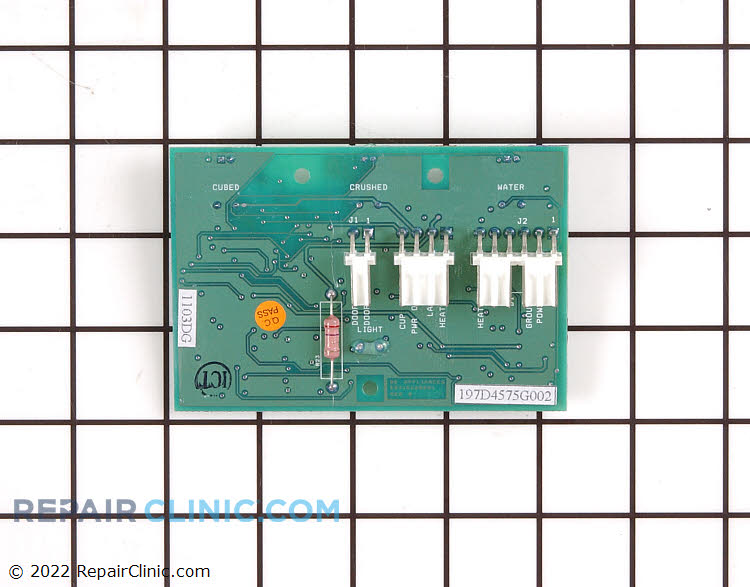 Dispenser Control Board WR55X10270 Alternate Product View