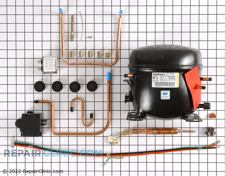 Compressor WR87X10084      Alternate Product View