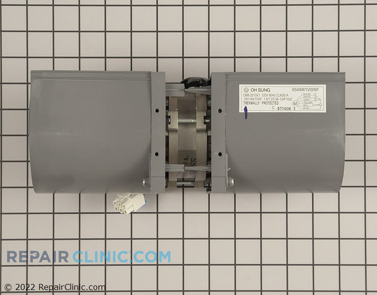 Exhaust Fan Motor 6549W1V006F     Alternate Product View