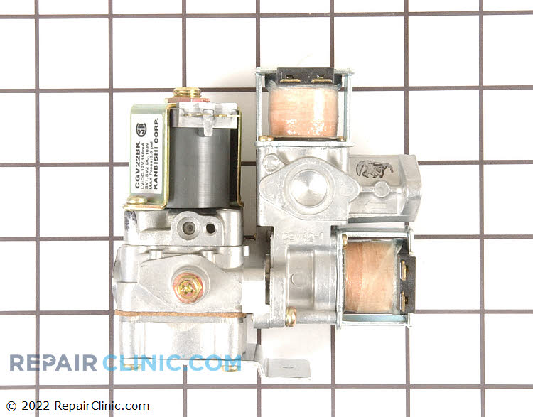 Gas Valve Assembly WE01X10201 Alternate Product View