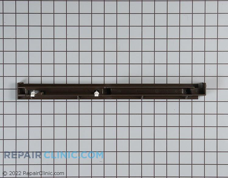 """Crisper drawer slide rail 14-7/8"""" long. LEFT SIDE ONLY."""