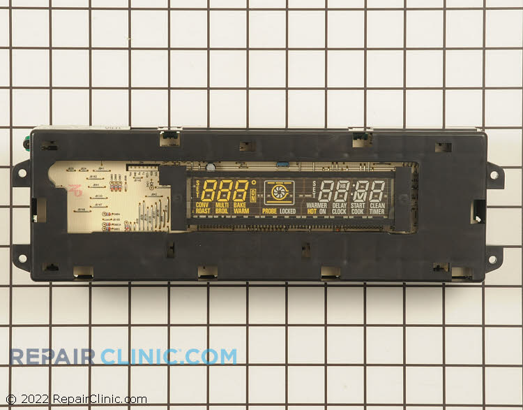 Electronic clock control