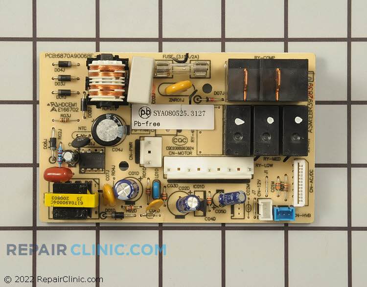 Relay Board EBR39283901 Alternate Product View