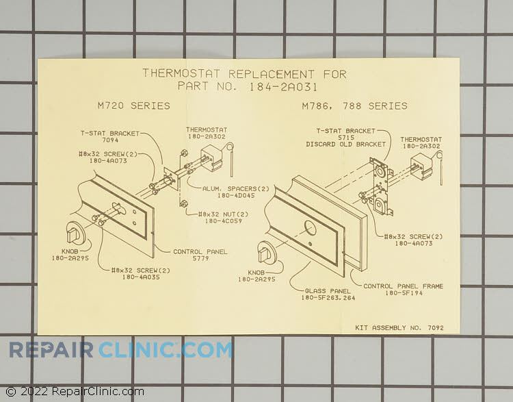 Temperature Control Thermostat 7092 Alternate Product View