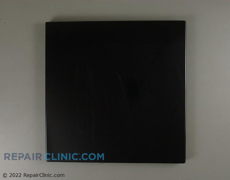 Outer door panel, black