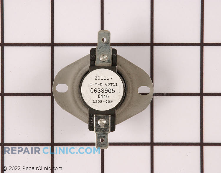 High limit thermostat, L205