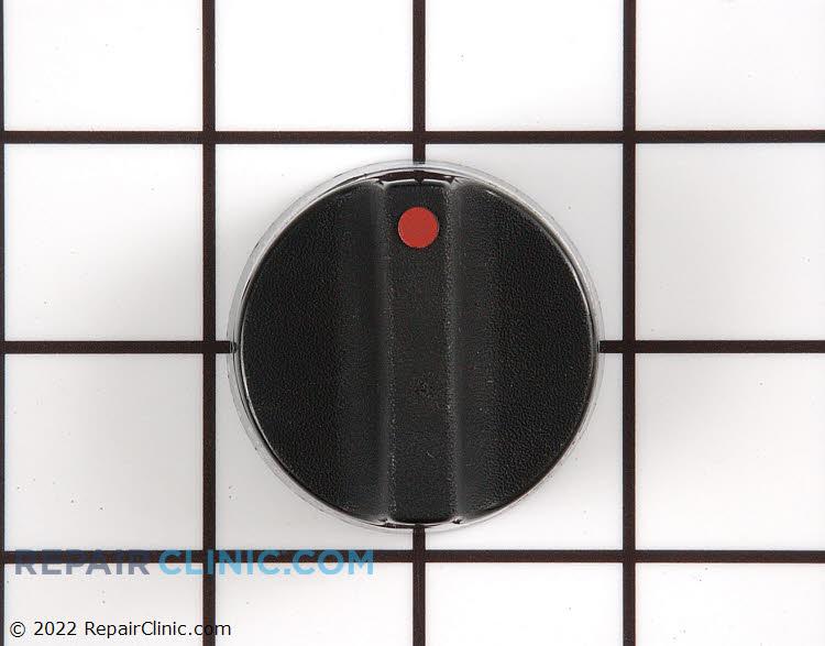 Black Thermostat Knob
