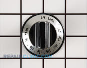Thermostat Knob - Part # 1240958 Mfg Part # WPY0310527