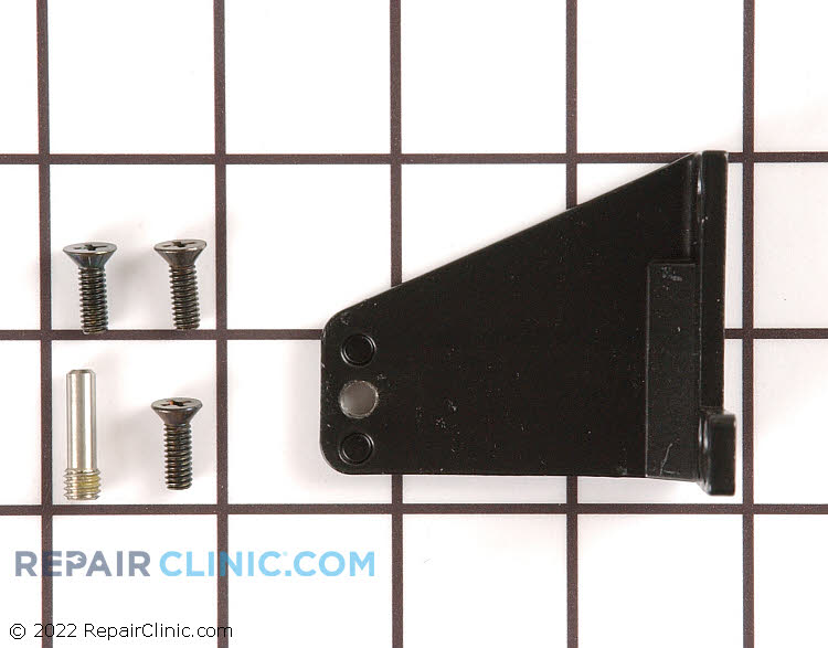 Bottom Hinge 11899-S-BLK Alternate Product View
