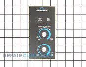 Control Panel - Part # 908225 Mfg Part # 5863290